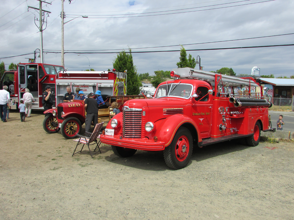 Parksville VFD 75th Anniversary - July 2017